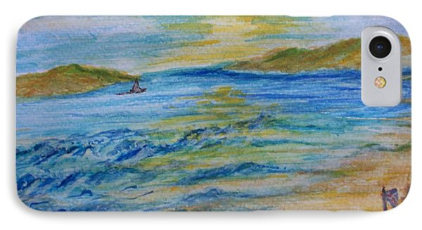 IPhone Case featuring the painting Summer/ North Wales  by Teresa White