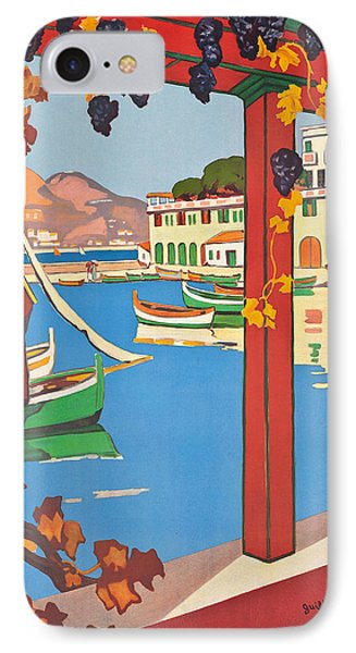 Summer On The Cote D Azur Phone Case by Guillaume Georges Roger