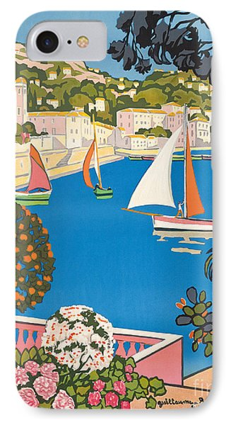 Summer On The Cote D'azur IPhone Case by Guillaume Georges Roger