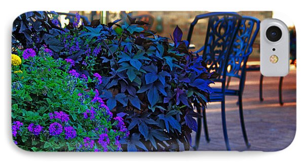 IPhone Case featuring the photograph Summer Patio by Rowana Ray