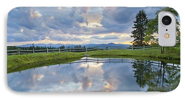 Summer Pond Reflection IPhone Case