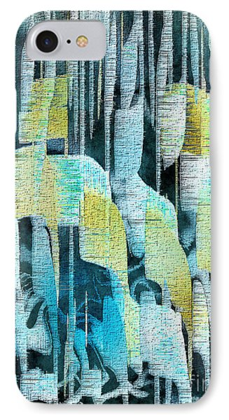 IPhone Case featuring the painting Summer Rain by Yul Olaivar