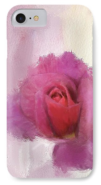 Summer Rose IPhone Case by Mary M Collins