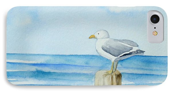 Summer Seagull IPhone Case