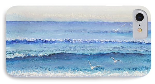 Summer Seascape IPhone Case by Jan Matson