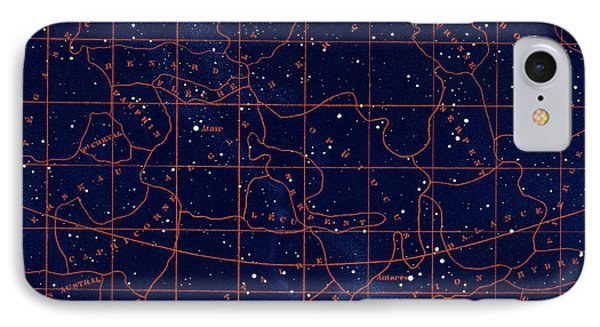 Summer Solstice Constellations IPhone Case by Collection Abecasis