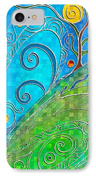 Summer Solstice IPhone Case by Shawna Rowe