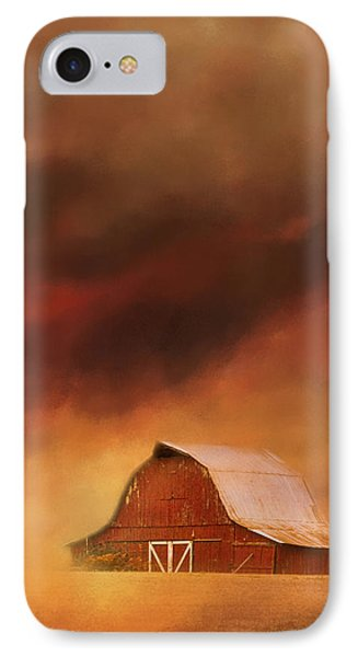 Summer Storm At The Barn IPhone Case by Jai Johnson