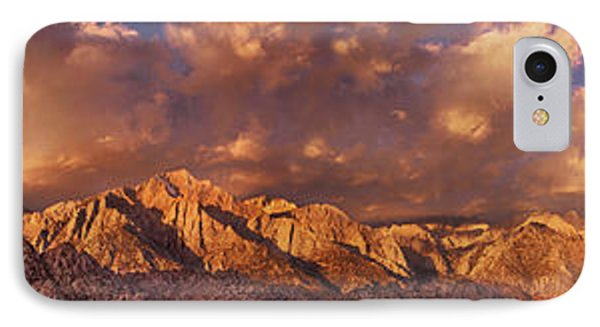 IPhone Case featuring the photograph Summer Storm Clouds Over The Eastern Sierras California by Dave Welling