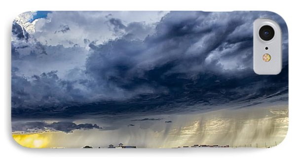 IPhone Case featuring the photograph Summer Storm Twin Falls Idaho by Michael Rogers