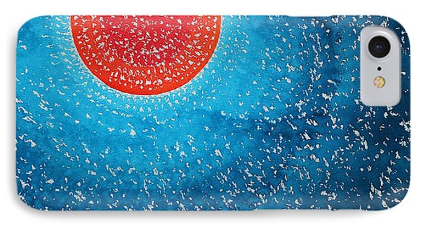 Summer Sun Original Painting IPhone Case by Sol Luckman