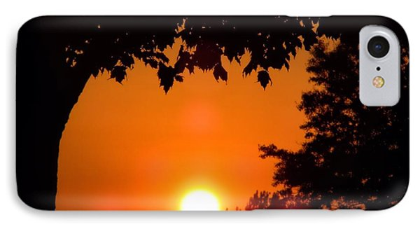 Summer Sunrise Right Side IPhone Case by Thomas Woolworth
