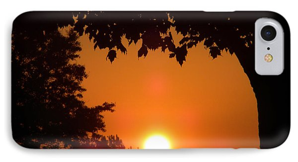 Summer Sunrise IPhone Case by Thomas Woolworth