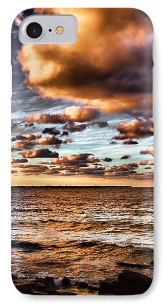 Summer Sunset On The Lake IPhone Case