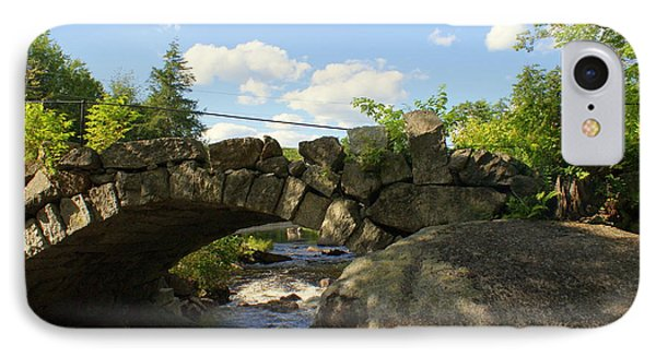 IPhone Case featuring the photograph Summer View Through The Bridge by Lois Lepisto