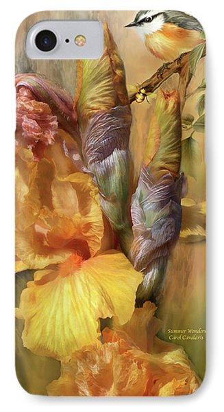 Summer Wonders Phone Case by Carol Cavalaris