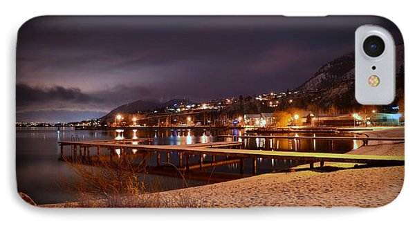 Summerland Lakeshore IPhone Case by Guy Hoffman