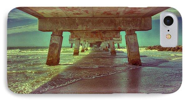 Summers Under The Pier Phone Case by Nicholas Evans