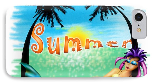 Summertime IPhone Case by Alessandro Della Pietra