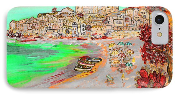 Summertime In Cefalu' IPhone Case by Loredana Messina