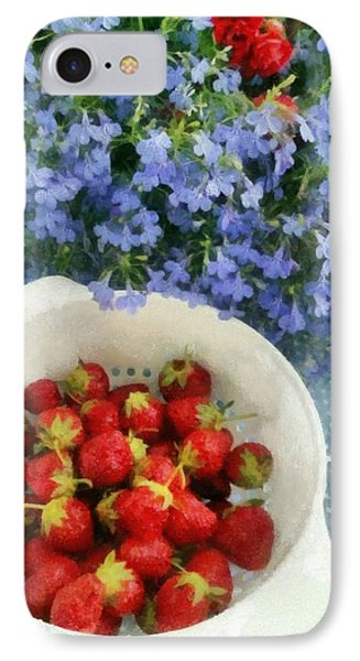 Summertime Table Phone Case by Michelle Calkins