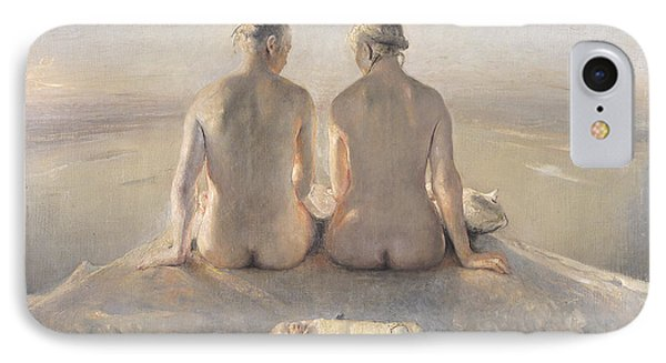Summit IPhone Case by Odd Nerdrum