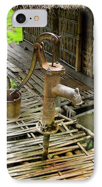 Sumoimari Ghat, Majuli Island, Assam IPhone Case by Ellen Clark