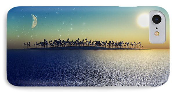 Sun And Moon IPhone Case by Aleksey Tugolukov