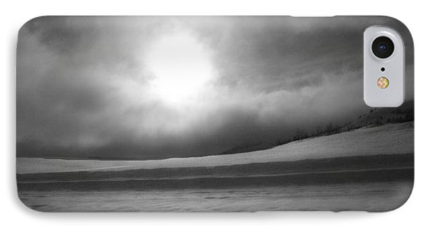 IPhone Case featuring the photograph Sun And Snow by Tarey Potter