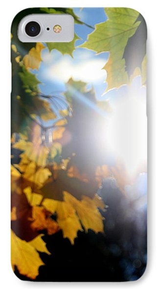 Sun Beam  IPhone Case by Neal Eslinger