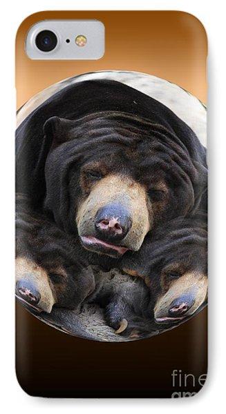Sun Bears In A Ball IPhone Case