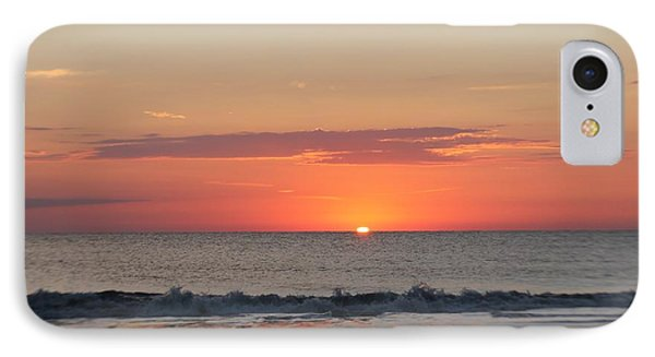 IPhone Case featuring the photograph Sun Breaks Horizon by Robert Banach