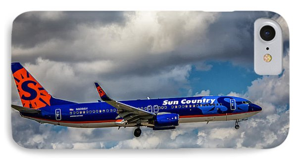 Sun Country Boeing 737 Ng IPhone Case