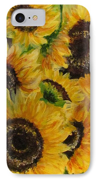 IPhone Case featuring the painting Sun Danse by France Laliberte