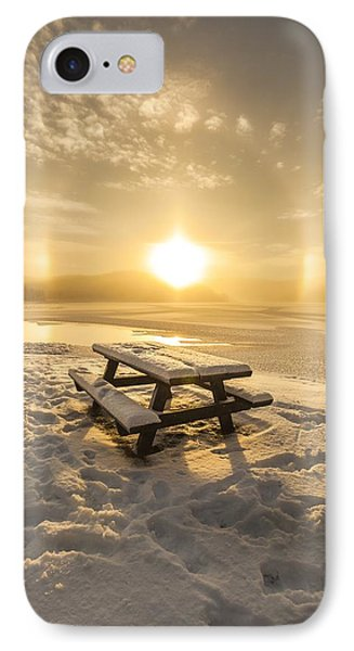 Sun Dog IPhone Case by Rose-Maries Pictures