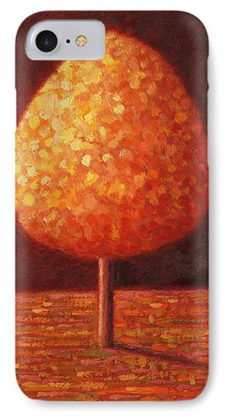 Sun Drenched Tree IPhone Case by Peter Davidson