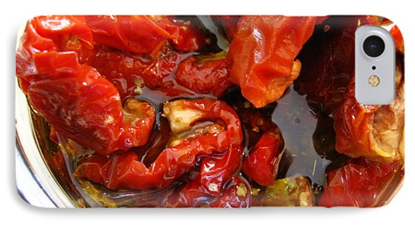 Sun Dried Tomatoes In Oil IPhone Case by Alexandros Daskalakis