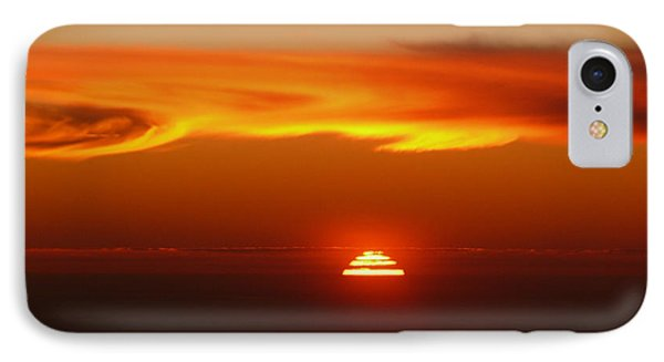 Sun Fire IPhone Case by Evelyn Tambour