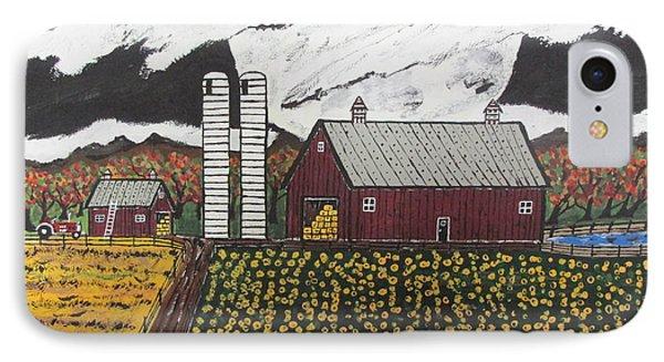 Sun Flower Farm IPhone Case by Jeffrey Koss