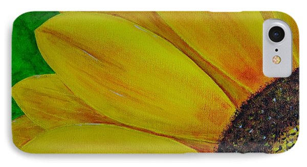 Sun Flower IPhone Case by Melvin Turner