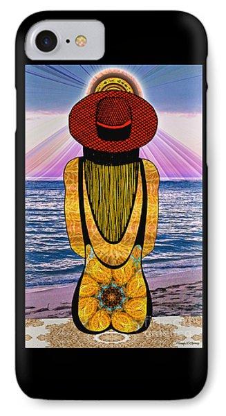 Sun Girl's Back IPhone Case
