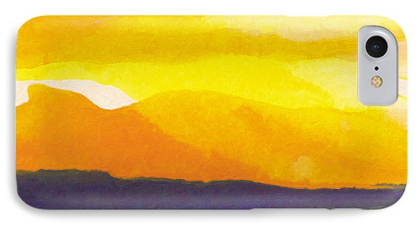 IPhone Case featuring the painting Sun Glazed by The Art of Marsha Charlebois