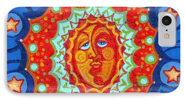 Sun God Phone Case by Genevieve Esson