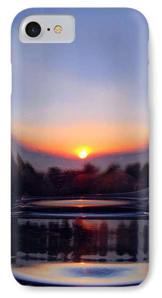 Sun In The Glass IPhone Case by Andreas Thust