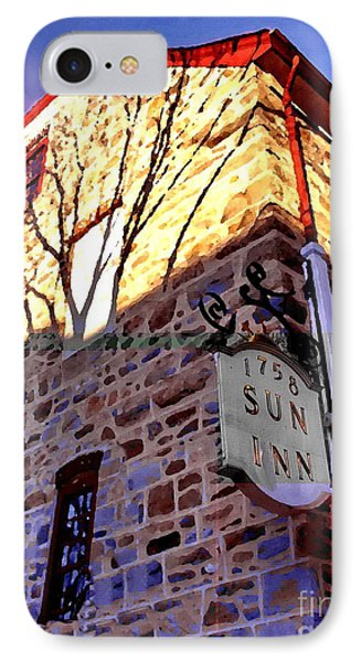 Sun Inn Bethlehem Pa IPhone Case by Jacqueline M Lewis