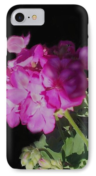 Sun Kissed Geranium  Phone Case by Christine Fournier
