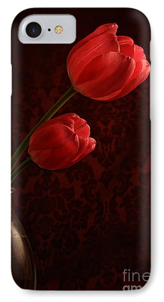 Sun Kissed Tulips Phone Case by Darren Fisher