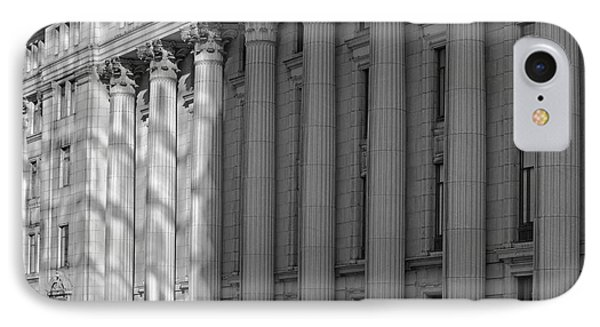 Sun Life Building  Montreal, Quebec IPhone Case by David Chapman