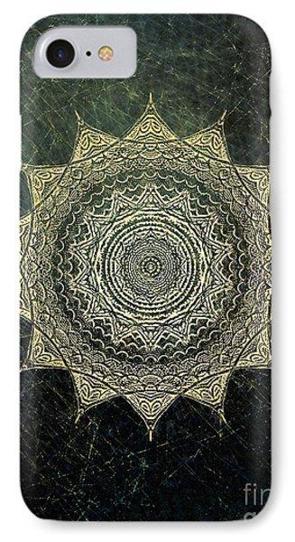 Sun Mandala - Background Variation IPhone Case