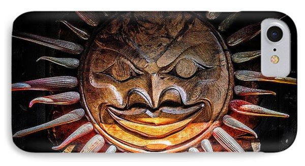 Sun Mask IPhone Case by Roxy Hurtubise